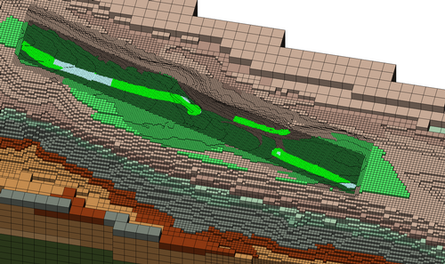LaGriT Geologic Mesh Generation, Finite Element Mesh, Octree Site 2009
